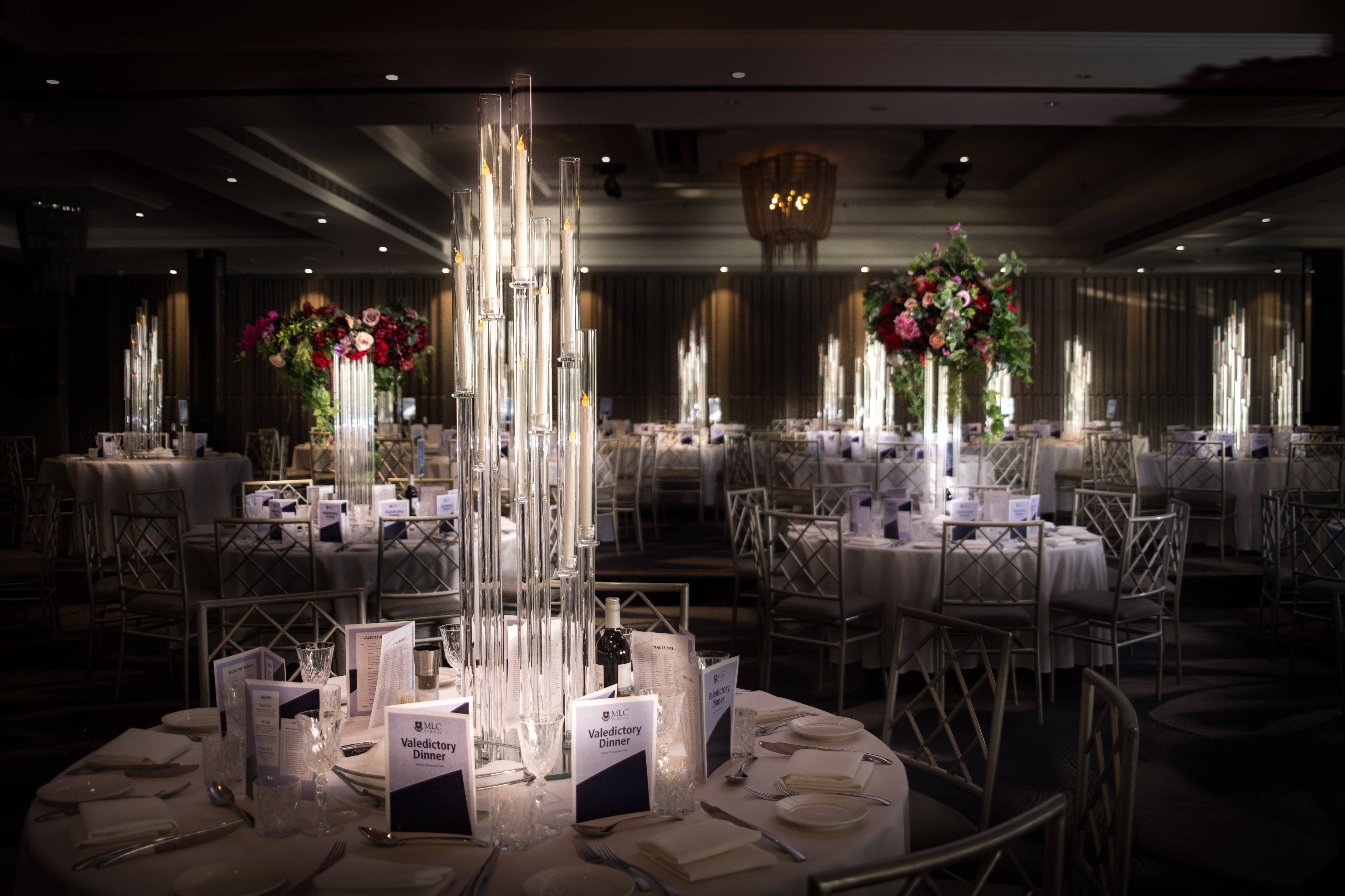 Clear Sky Candelabras The Brides Table